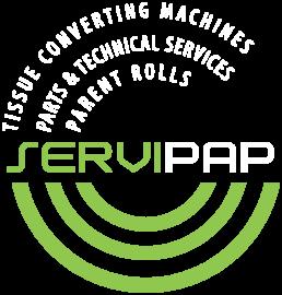 Logo Servipap Blanco